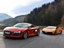 Сравнительный тест-драйв: Porsche911Carrera против AudiR8