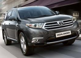 Скоро на наших рынках появится Toyota Highlander в доступной комплектации